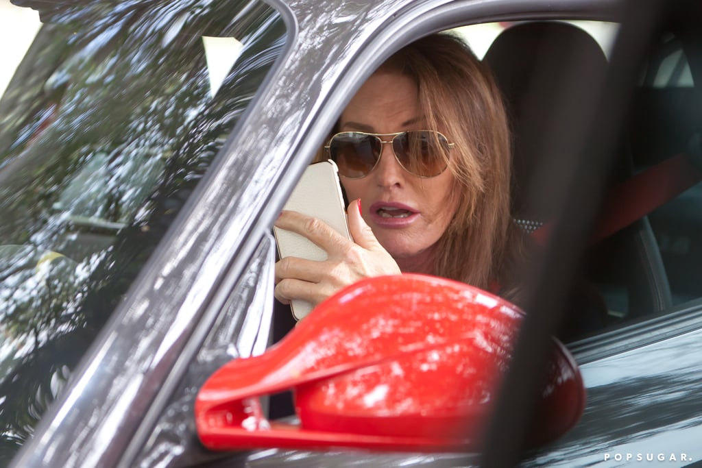 Caitlyn Jenner Driving Her Porsche in Malibu, CA   Pictures