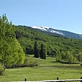 The scenery in Aspen: gorgeous!