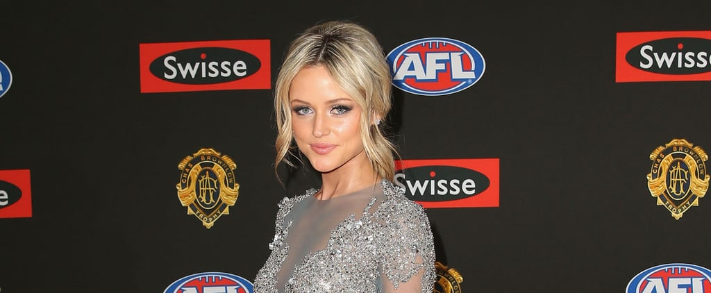 Jessie Habermann AFL WAG Best Beauty Looks
