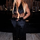 1999: At her first VMAs, Britney arrived in a sheer ensemble at the Metropolitan Opera House in NYC.