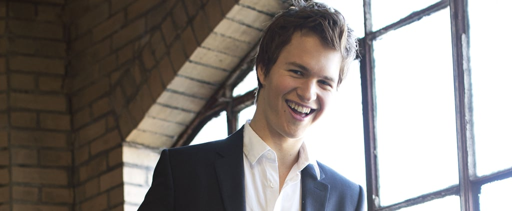 Ansel Elgort Was Channeling Augustus Waters Long Before TFIOS