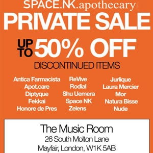 On Your Mark, Get Set Go! Space NK Is Having a Sample Sale
