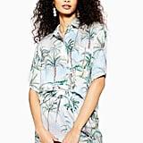 Topshop Hawaiian Print Shirt and Trousers Set