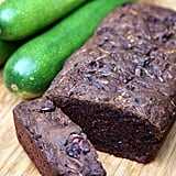 Vegan Chocolate-Cranberry Courgette Bread