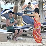 Jenna Dewan and Channing Tatum were in St. Barts.