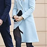 Kate Middleton at the Valero Pembroke Refinery in 2014