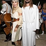 Linda Thompson and Brandon Jenner
