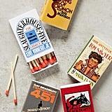 Out-of-Print-Novel Matchbook Set