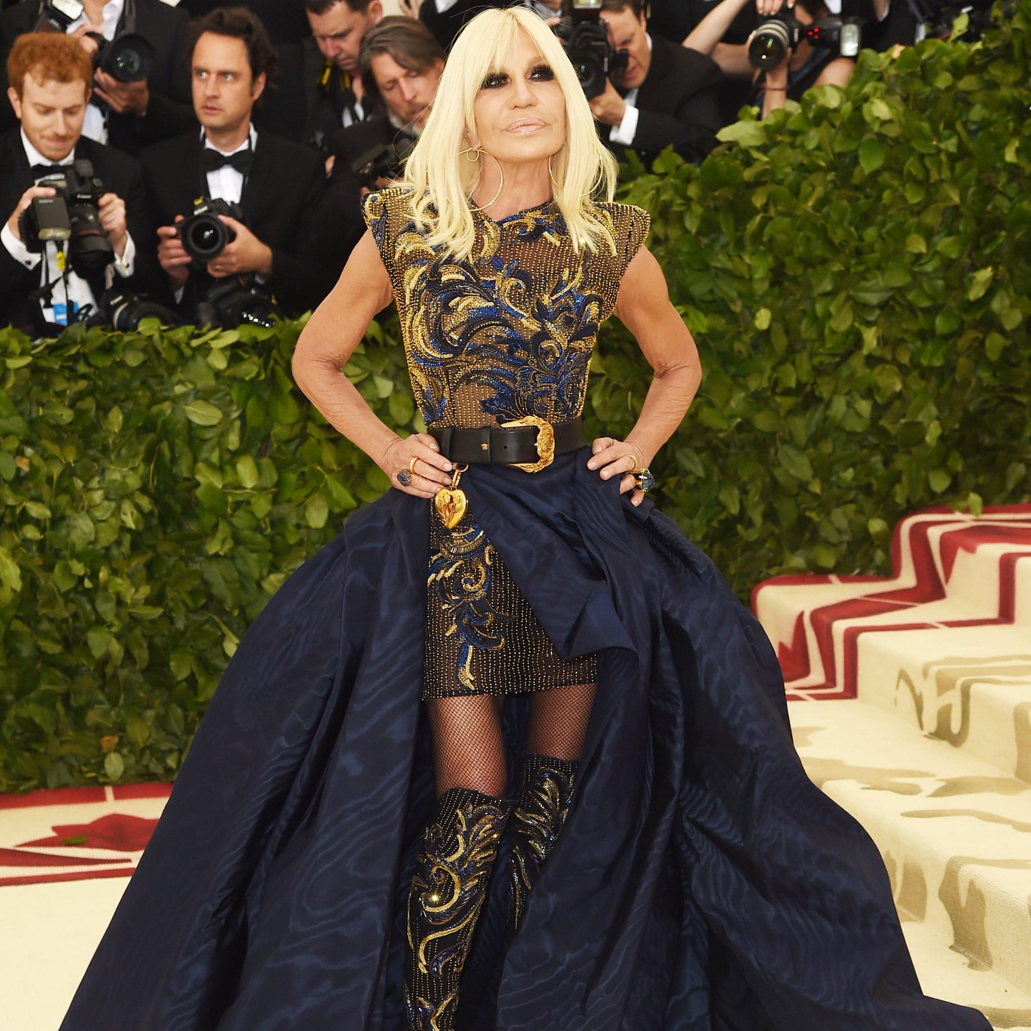52d4558a91d4 Donatella Versace Met Gala Dress 2018