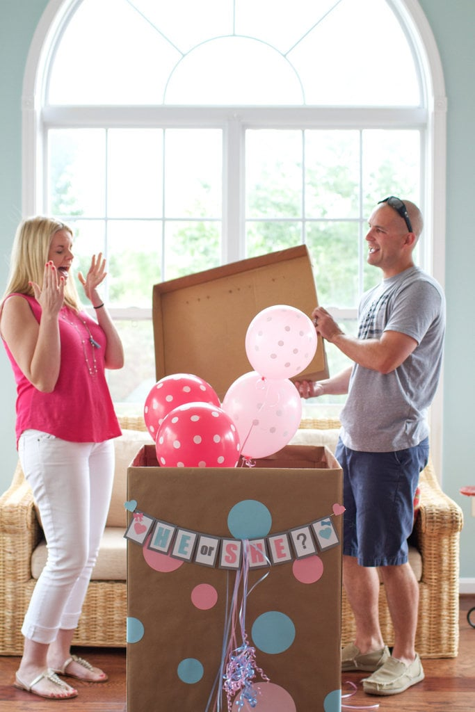 Creative GenderReveal Announcement Ideas – Announcing the Gender of the Baby Ideas