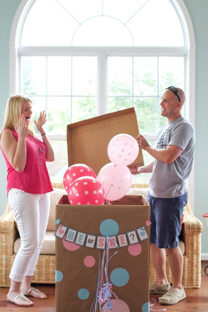Creative GenderReveal Announcement Ideas POPSUGAR Moms