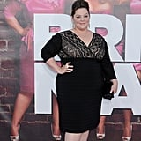 This is where it all began! The star made quite the sparkly statement when she stepped out at the world premiere of Bridesmaids in a lacy black dress.