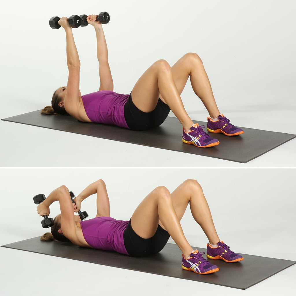 Beginner Arm Workout With Weights Popsugar Fitness Weight Training For Women Dumbbell Circuit