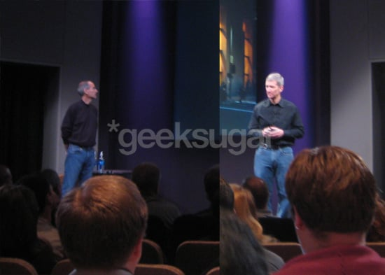 What the Apple Presenters Wore at the 2008 Fall Apple Announcement