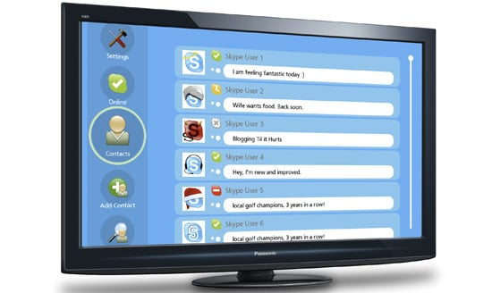 Skype Bringing HD Calls To Your PC, New LG and Panasonic TVs