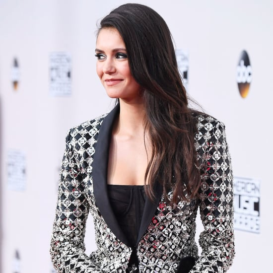 Nina Dobrev at the 2016 American Music Awards