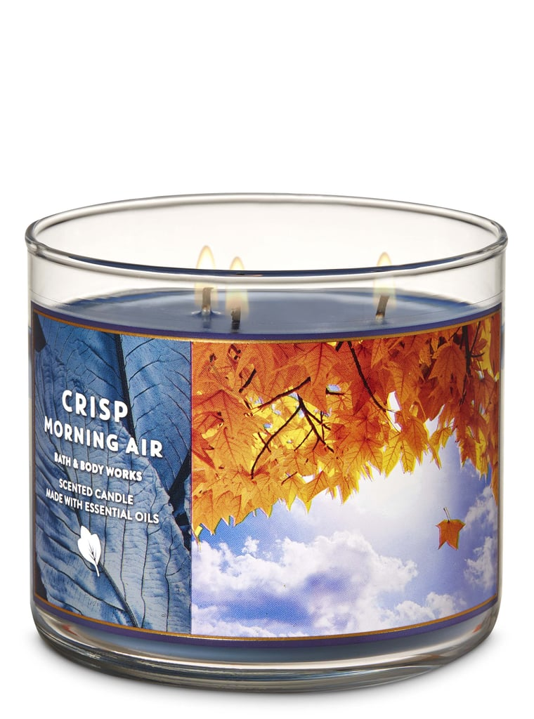 Bath and Body Works Crisp Morning Air 3-Wick Candle