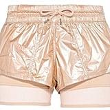 adidas by Stella McCartney Metallic Shorts ($90)