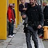 Pictures of Jennifer Garner, Ben Affleck, Seraphina Affleck, and Violet Affleck in LA Before Christmas