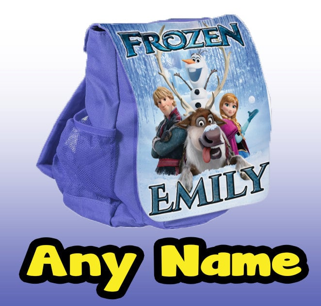 Personalized Frozen Backpack