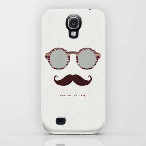 This hip case couldn't be more indifferent about your problems, in other words Je M'en Fous ($35).