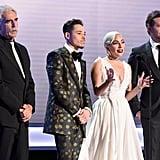 Lady Gaga and Bradley Cooper at the 2019 SAG Awards