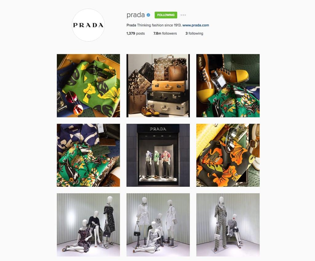 Prada's Instagram Feed