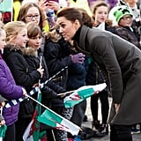 Kate Middleton on Royal Walkabouts