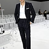 Cole Sprouse at the Thom Browne Paris Fashion Week Show