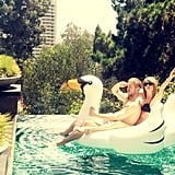"""Swan Goals"" Taylor (and Calvin)"