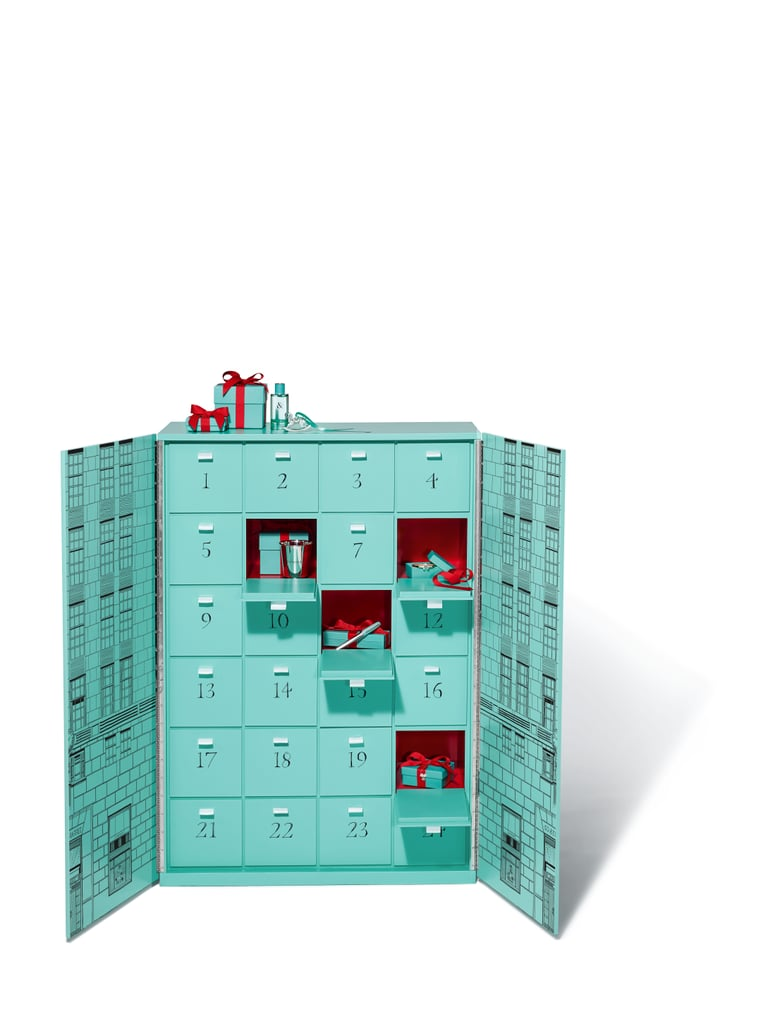 "Advent calendars are typically filled with chocolate or toys — wine, if you're lucky — but a new six-figure calendar is brimming with diamonds. As part of its forthcoming holiday collection, Tiffany & Co. is releasing a $112,000 calendar containing 24 luxurious gifts to be opened every day in December until Christmas.  To explain that price tag a bit, some of the items featured in the calendar include a stainless-steel watch with diamonds, a sterling silver cup, diamond and tanzanite drop earrings, a bottle of perfume, the jeweler's signature heart tag bracelet, and so much more. There is, however, a catch: Tiffany only made four of these calendars, so consider yourself especially lucky if you spot one of these under the tree. ""This holiday we wanted to really surprise our customers in a whole new way by showcasing the most awe-inspiring objects and experiences that you can only find at Tiffany,"" Chief Artistic Officer Reed Krakoff said in a press statement. There's no mistaking this Advent calendar for one by another brand, so we think it's safe to say Tiffany succeeded. See pictures of the over-the-top gift ahead, and browse a few of the items it contains.      Related:                                                                                                           I See Your Diamond Engagement Ring and Raise You This Rare, Color-Changing Stone"
