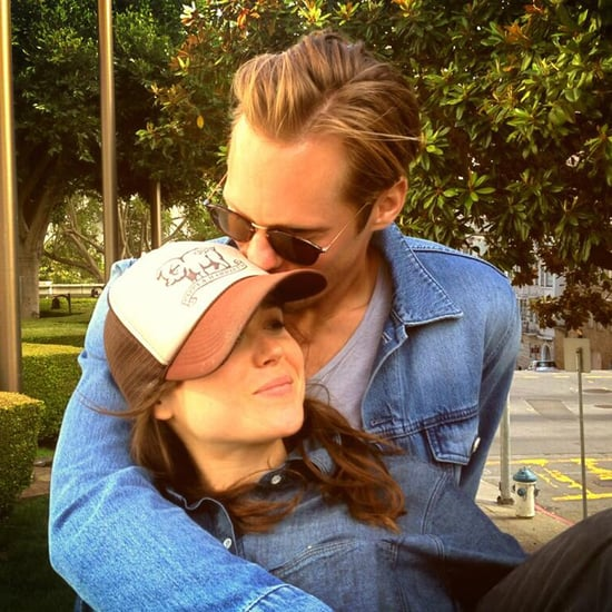 Alexander Skarsgard With Ellen Page | Photos