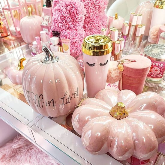 HomeGoods Is Selling Pink Pumpkin Halloween Decorations
