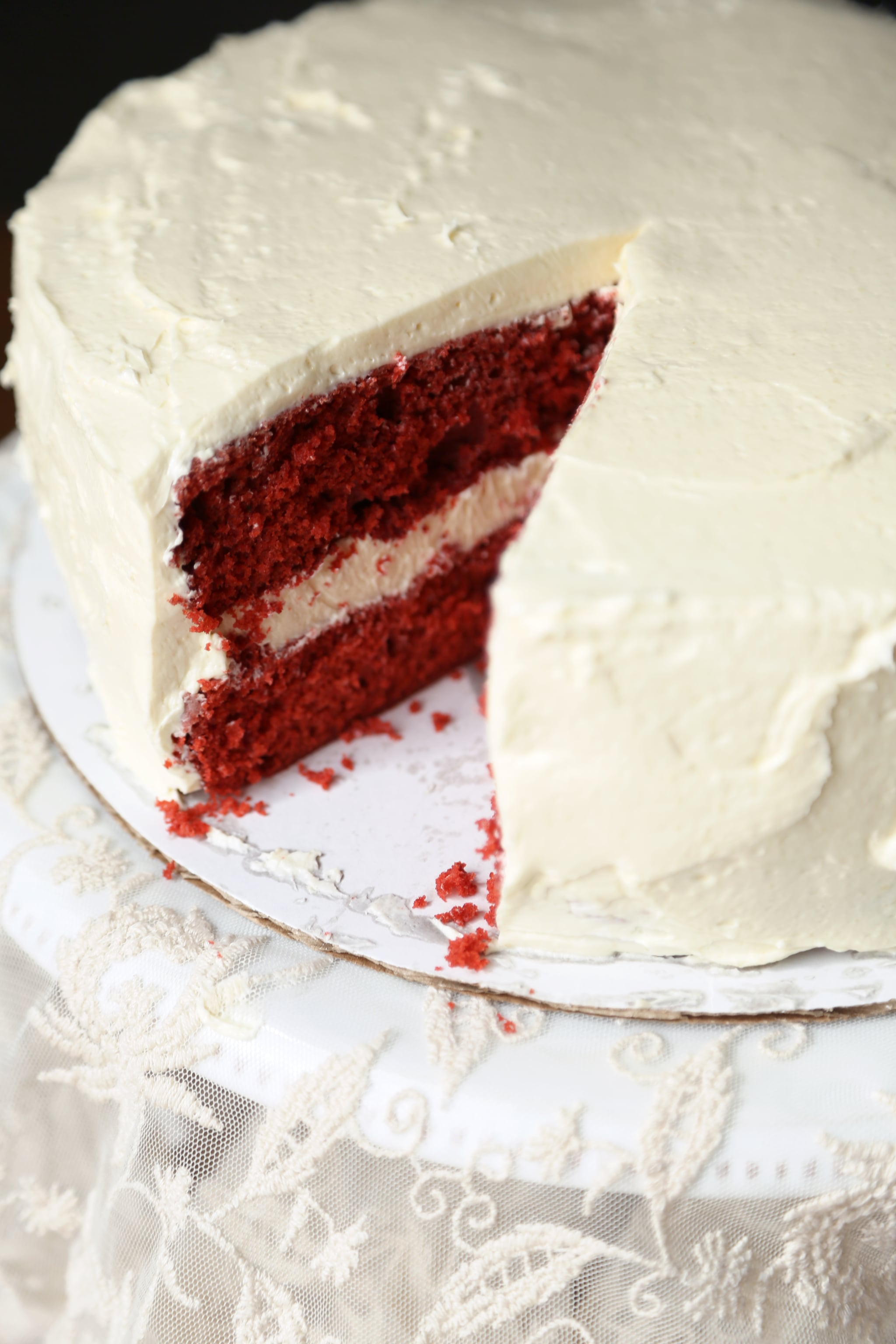 This Traditional Frosting Recipe Will Take Your Red Velvet Cake to the Next Level
