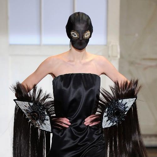 Maison Margiela Face Masks | Spring 2014 Haute Couture