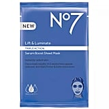 No7 Lift & Luminate Triple Action Serum Boost Sheet Mask