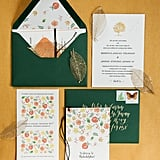 Don't forget about the envelope color! It could really enhance your Halloween or Fall theme.
