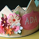 Maureen Cracknell Handmade Secret Garden Birthday Crown