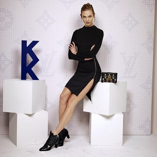 Karlie Kloss Struck a Serious Pose, Proving Her Model Prowess