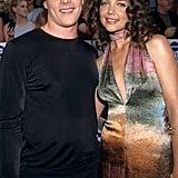 Chris Klein et Katie Holmes en 2000