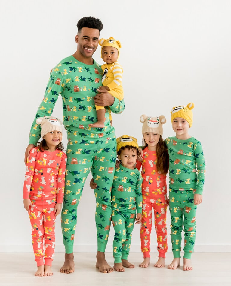 Pictures of the Hanna Andersson Lion King Matching Family Pajamas Collection