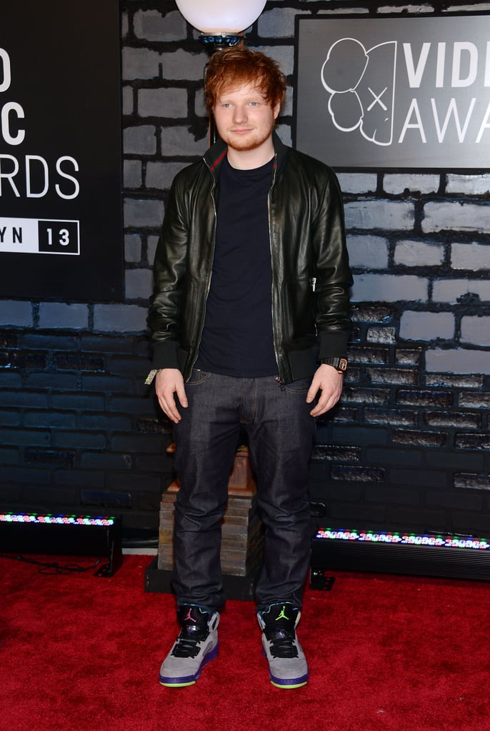 Ed Sheeran attended the MTV VMAs.