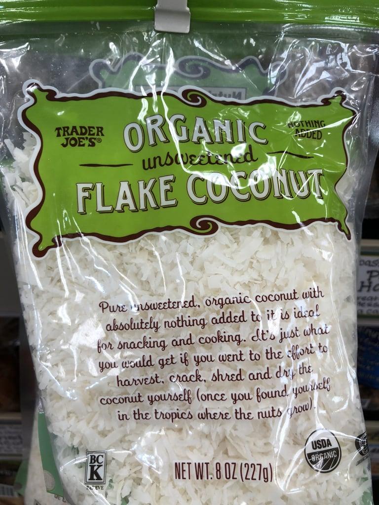 Organic Unsweetened Coconut Flakes