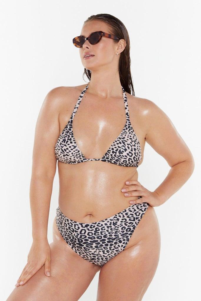 2dfd27c011f95 Nasty Gal Plus Size Swimwear Collection With Model Tara Lynn | POPSUGAR  Fashion