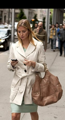 Ivanka on the Go