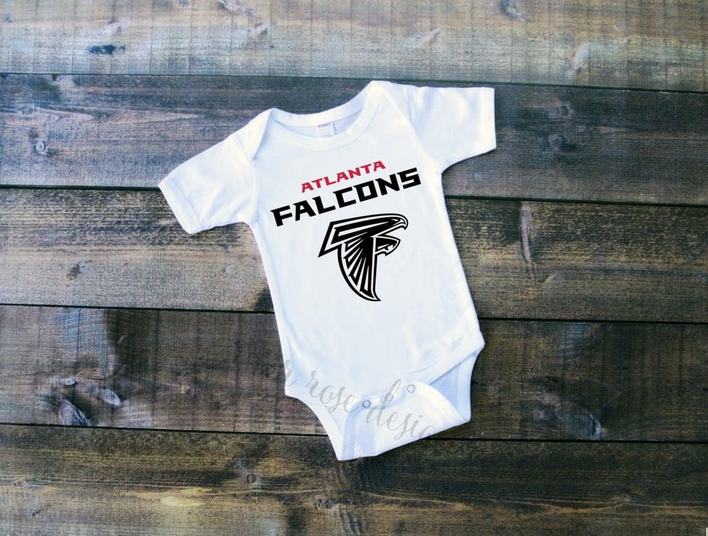Falcons Logo Onesie
