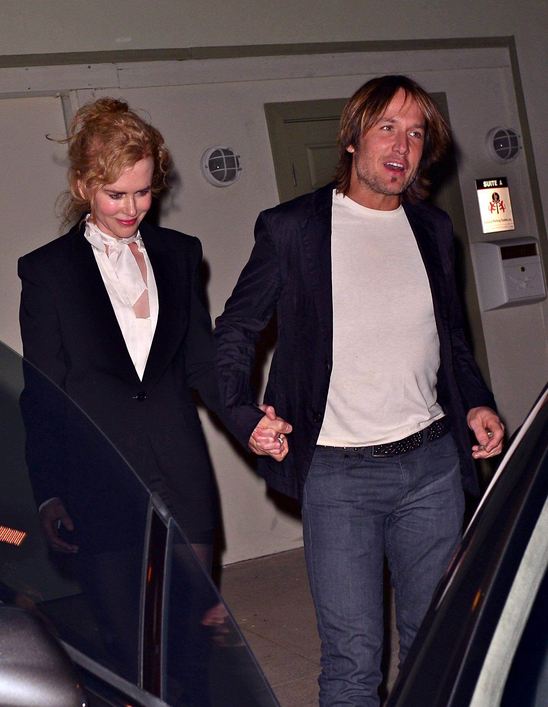 Nicole and Keith Get in the Valentine's Spirit Ahead of the Oscars