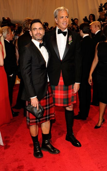 Marc Jacobs and Robert Duffy