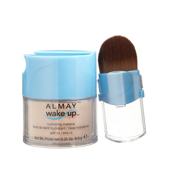 Almay Wake Up Hydrating Makeup, $11  Encapsulated water beads provide soothing hydration in this cucumber and green tea-filled mineral powder makeup.