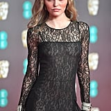 Lily-Rose Depp Wearing Chanel at the 2020 BAFTAs in London